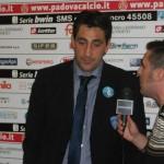Mister Aglietti analizza il gol preso nel finale