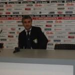 Mister Carboni in sala stampa