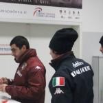 Giocatori del Torino (Rubinho) in Silenzio Stampa Scaramantico