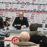 Mister Lerda in sala stampa parla dell'eurogol di Bianchi