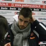 Elia Legati e il suo primo gol in maglia biancoscudata