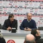 I giornalisti granata ringraziano Calori per il gol alla Juve nel 2000