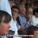 Il ct dell'under 21, Ciro Ferrara in tribuna