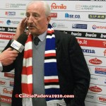 Il presidente Cestaro in sala stampa dopo il Fair Play Village