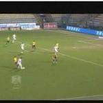 Una foto che gira sul web che mostra la posizione regolare di Legati al gol del vantaggio