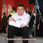 Davide Succi in tribuna