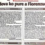 Padova sconfitto a Fiorenzuola
