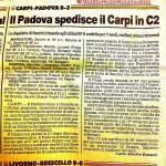 Padova spedisce il Carpi in C2, ma la beffa è dietro l'angolo