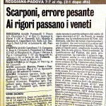 Reggiana-Padova Coppa Italia