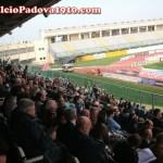 I tifosi del Crotone appostati in tribuna