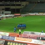 Il Pescara si carica prima della gara