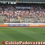 """Padova - Gubbio : """"Nessun perdono per chi scommette sulla nostra passione"""""""