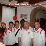 Alta Padovana Biancoscudata : i primavera con il presidente Frasson