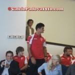 Luca Maniero: Presentazione nuove maglie Calcio Padova Joma 2012/2013