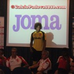 Feltscher: Presentazione nuove maglie Calcio Padova Joma 2012/2013