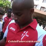Zè Eduardo: Presentazione nuove maglie Calcio Padova Joma 2012/2013