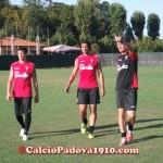 Pablo Granoche e Diego Farias già al lavoro con i compagni