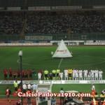 Padova-Lanciano squadre in campo