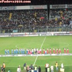 Brescia-Padova: squadre in campo