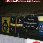 Stadio Braglia, curva del Modena prima della gara