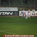 Gol del 3-1, esultanza sotto la Fattori
