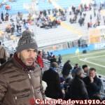 L'ex Giovanni Serao in tribuna a sostenere il Padova