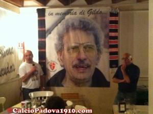 Alta Padovana Biancoscudata: il presidente Alex Frasson e Raffaello Toniolo, ideatore della serata