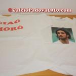 La maglia dedicata a Morosini indossata dai giocatori