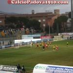 Fase di gioco di Grosseto-Padova