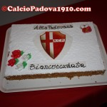 La torta della Seconda Cena dell'Alta Padovana Biancoscudata
